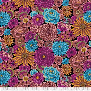 Kaffe Fassett PWGP-172 Enchanted Dark